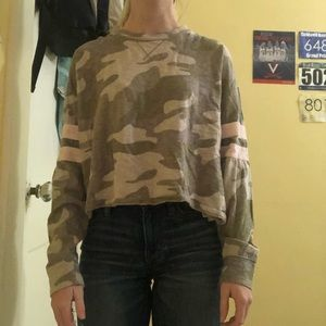Camo Hollister Long Sleeve